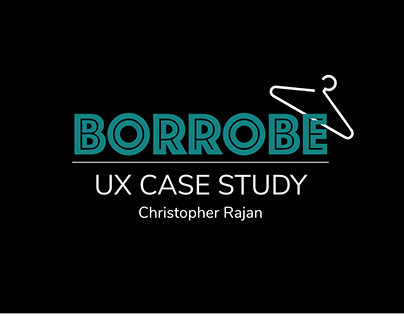 Borrobe App - UX Case Study (DesignBoat School Project)