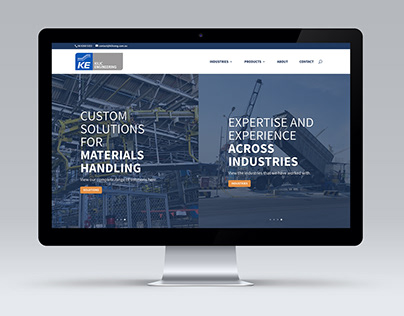 Website redesign for Kilic Engineering