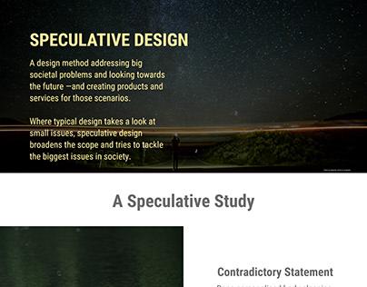 Speculative Design