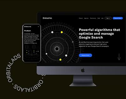 OrbitalAds Website