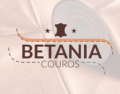 Betânia Couros - Identidade Visual