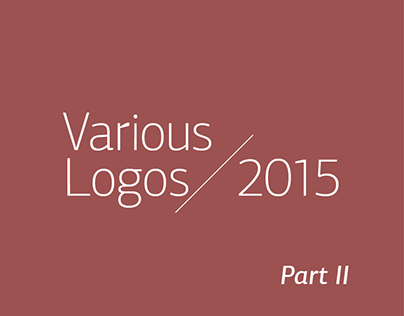 Various Logos / 2015 | Part II