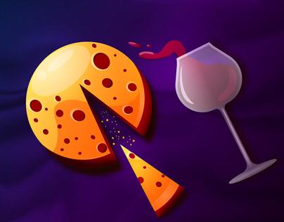 Cheese&wine