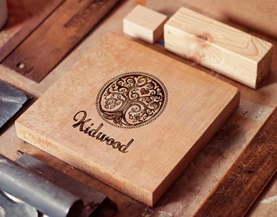 Логотип для мастерской детской мебели из дерева