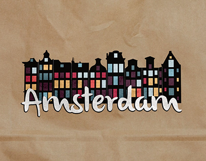 Proposition de refonte du logo d'Amsterdam