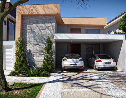 Simple Residencial Facade