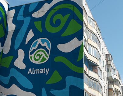 Almaty City Branding / Propose, 2016