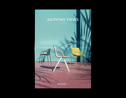 Summer News – Editorial Design