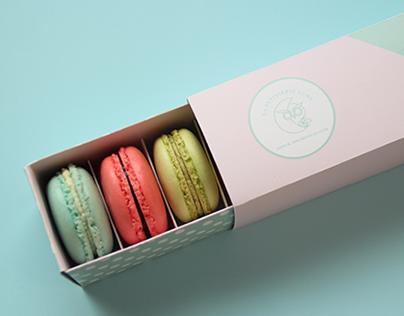 Packaging Design   La Patisserie Lune