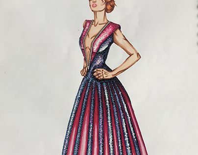 Gala Fashion Sketching