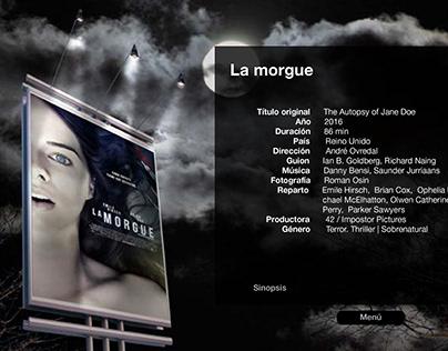 Catálogo películas de terror