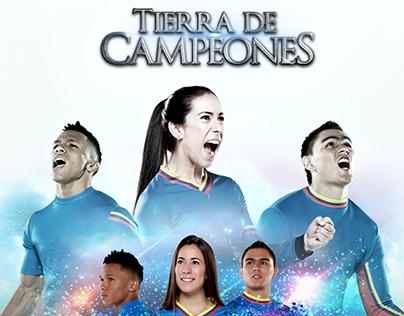 Samsung Tierra de Campeones Website