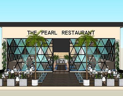 Water Restaurant full 3d inteiror and exterior