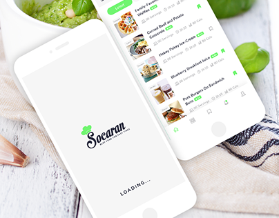 Socaran Cooking App
