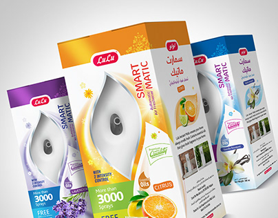 Room Air freshener Package Design