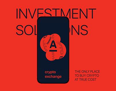 Alfa-Bank — App crypto exchange concept
