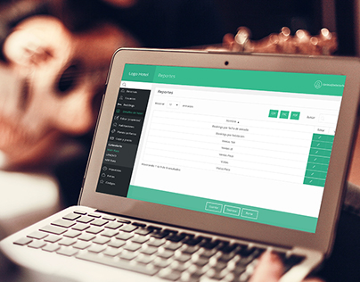 Backoffice | UX/UI for Booking Engine administration