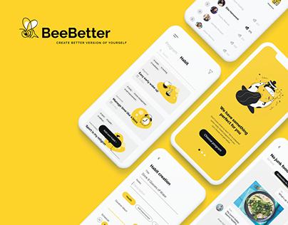 BeeBetter - Habit Tracker App Case study