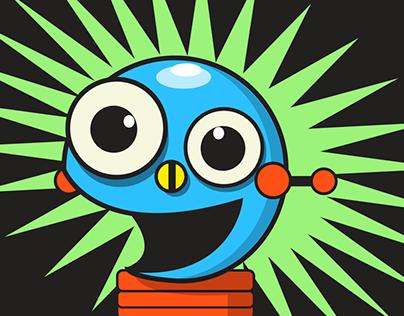 """iOS10 Sticker Pack…""""RoboSticks"""""""