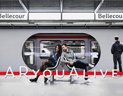 ARyouAlive, le métro de Lyon en réalité augmentée