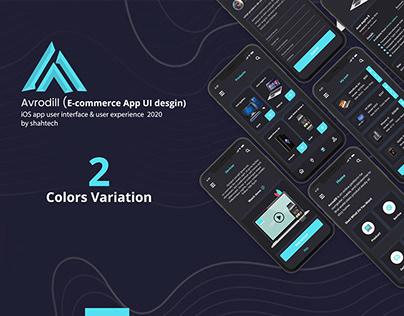 E-commerce App Desgin(2 Colors Variation)