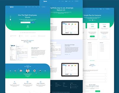Gleam HR Website