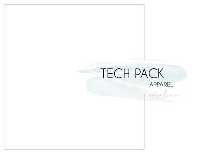 Utility Pants Tech Pack - designed for Client