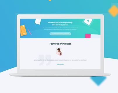 Management Courses | Landing Page