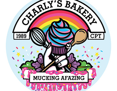 Charly's Bakery License Disc Sticker