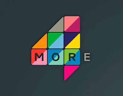Channel More4 Rebranding - Logo