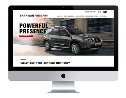 Shahwar Nissan Website
