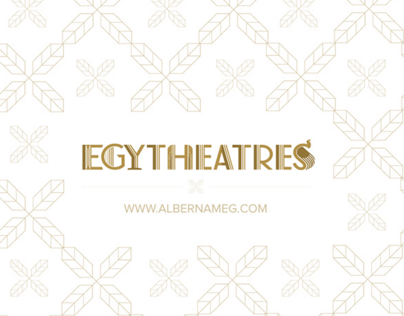 EGYTheatres Logo Design, Stationery and Branding