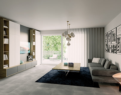 A new project of interior design in Treviso Italy