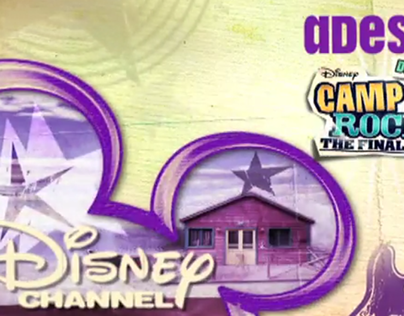 BUMPERS DISNEY CHANNEL ITALY – Camp Rock