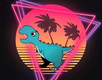 Le dinosaure de l'espace
