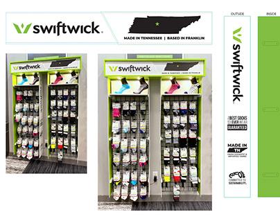 SwiftWick Tradehome Display Case
