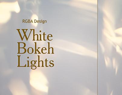 Bokeh Lights White Backgrounds