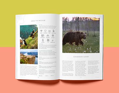 Wexas Travel Magazine Layout