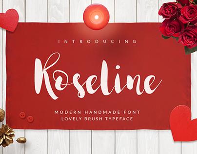Roseline Script [Free Font]