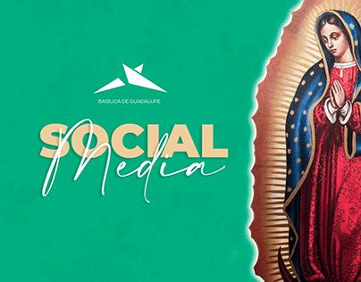 Basílica de Guadalupe Social Media