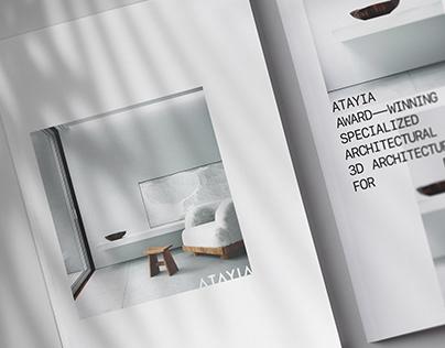 ATAYIA 3D Studio — ID & Portfolio Design