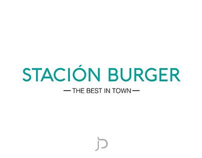 Logo - Stación Burger