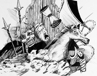 The inevitable invasion // Graphic novel