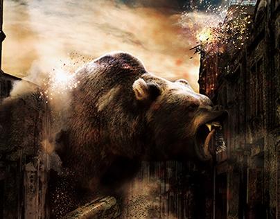 """The Bear"" - Photoshop manipulation"