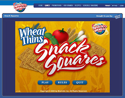 Wheat Thins Snack Squares