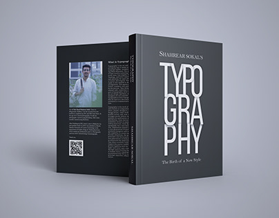 Typographical Book Cover Design