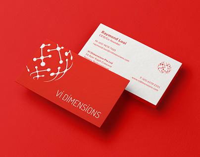 Vi Dimensions Identity & Website