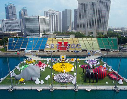Art-Zoo Inflatable Park @ i Light Marina Bay 2017