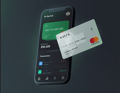 UI Design for a finance app