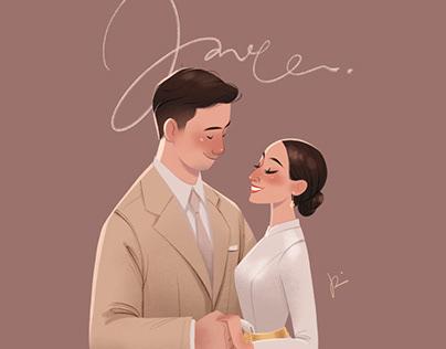 Love (wedding portrait)